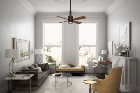 Find a Ceiling Fan that Works with your Home Décor