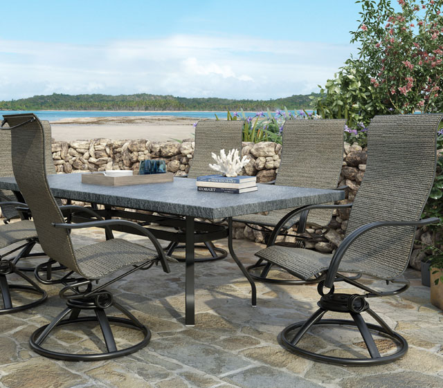 Patio Furniture Stores In Michigan Gensun Michigan Patio Dining Set