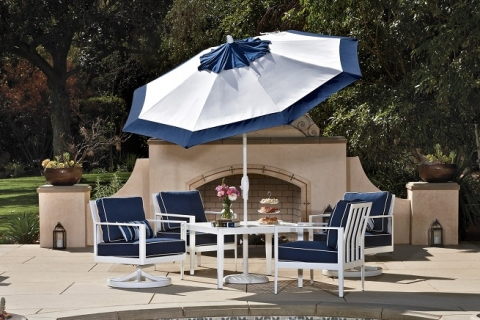 Enjoy the Outdoors with Patio Umbrellas in Kalamazoo from Hodgson Light and Log